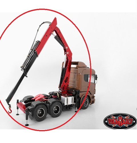 [VV-JD00019] 1/14 Truck Mounted Hydraulic Crane [1/14트레일러용 유압 크레인]