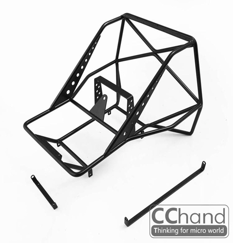 CChand 1/10 스케일 트럭 리어 금속 케이지 [Conversion Package / Mojave Body and Axial SCX10 I & II] (Style B)