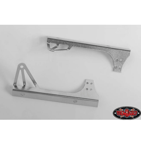 [Z-S1806] Light Bar Mounts for Axial Jeep Rubicon (Silver)