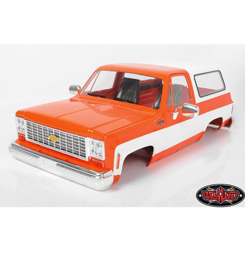 [Z-B0146] RC4WD Chevrolet Blazer Hard Body Complete Set (Orange)