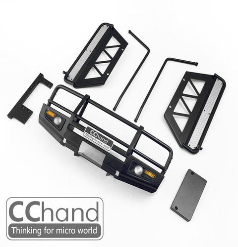 1/10 CChand RC4WD 1/10 LC70 ARB (Black)[Front Bumper+Sliders +Side Bars 포함]