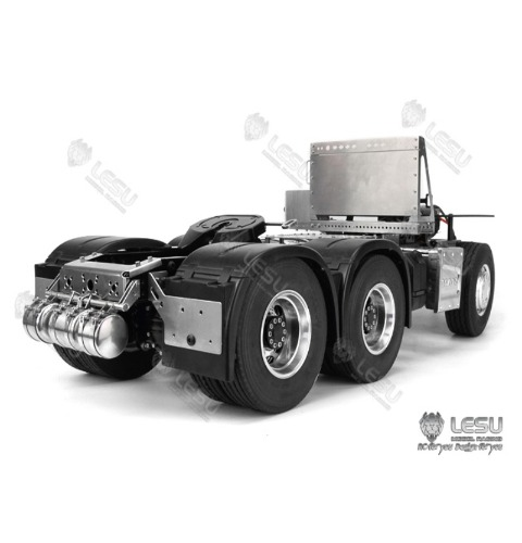 LESU radium speed model 1/14 truck MAN TGX all metal 6X4 tractor chassis [바디제외 풀메탈 하부만]
