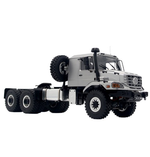 1/14 remote control off-road truck 6X6 trailer truck climbing trailer army truck heavy support / 1/14 6X6 6륜 트레일러 트럭