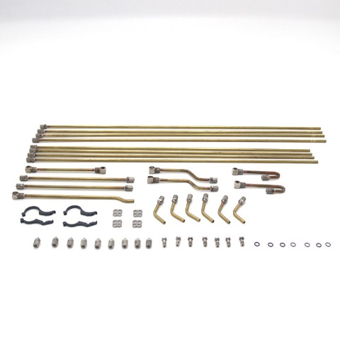 1/14 static point model special hydraulic copper pipe for new excavator 360L[Upgraded version] / 360L 굴삭기 전용 동관파이프 교체 [업그레이드버젼]