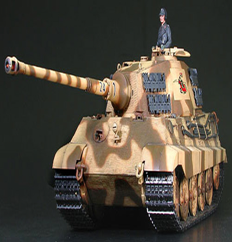 [56018] RC King Tiger Product. 1/16