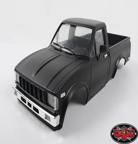 [Z-B0066] Complete Mojave Body Set For Trail Finder 2 (Matte Black)