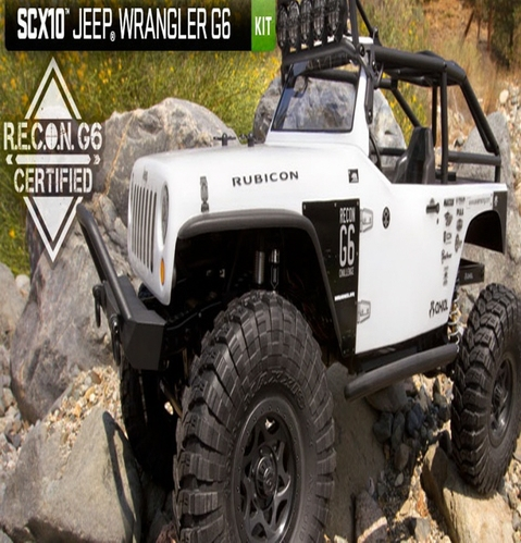 [AX90034] Axial SCX10 Jeep Wrangler G6 1/10th Scale Electric 4WD KIT