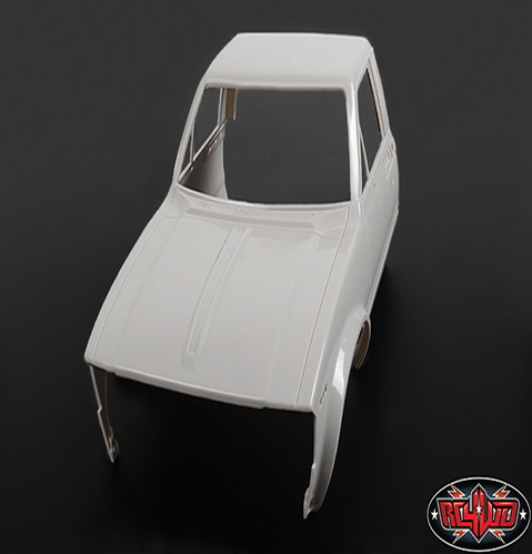 [Z-B0070] RC4WD Mojave II Front Cab (Primer Gray)