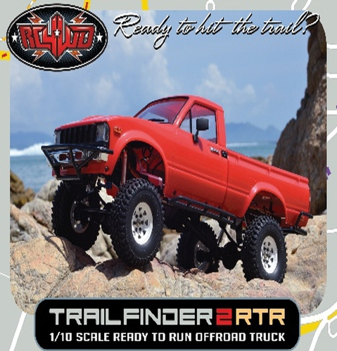 [Z-RTR0024] RC4WD Trail Finder 2 RTR w/Mojave II Body Set [송/수신기/배터리는 제외]