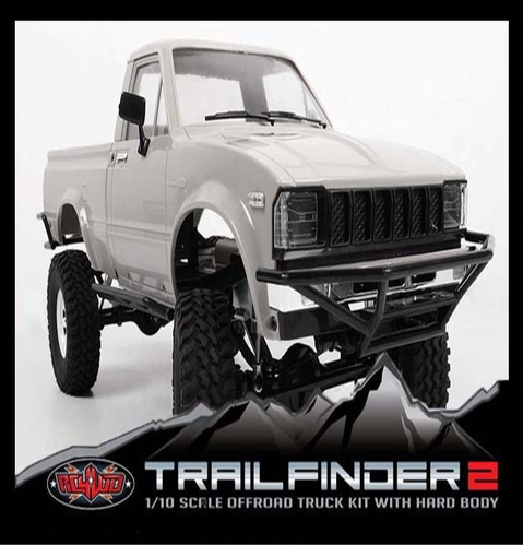 [Z-K0048]Trail Finder 2 Truck Kit w/Mojave Body Set (Grey)[트레일파인더2][바디포함]