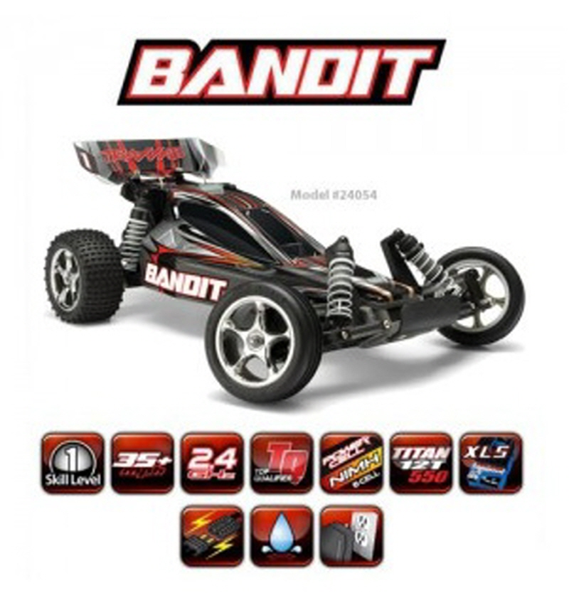 CB24054 1/10 Bandit XL-5 - Extrime Sports Electric Buggy (TQ 2.4GHz 조종기, 550 모디모터, XL-5 ESC)