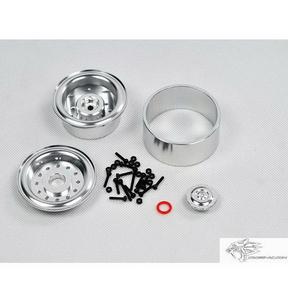 [97400044] CROSS 1/10 알미늄 광택 1.9인치 휠 [2개포함]