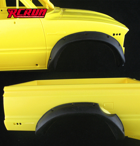 1/10 RC4WD TF2 트레일파인더 휀다 고무커버 [차량 한대분]