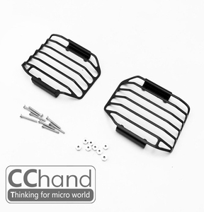 1/10 CChand - RC4WD D90/D110 디펜더 프론트 라이트 메탈 가드