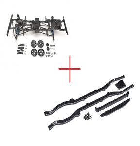 [공동구매 RC4WD Gelande II D110 Parts & Upgrades + Defender D110 Chassis Extension Set  1/10 디펜더 D110 하부 풀 프레임 + 전용새시