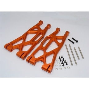 [TXM055F/ROR] Aluminum Front/Rear Lower Arms -1Pr Orange