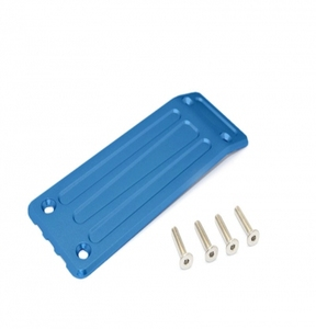 [TXM331RB] Aluminium Rear Skid Plate - 1Pc Set Blue