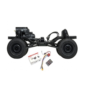 [532148COMBO] 4WD High Performance Off-Road Car KIT (Free 18T Pinion Gear) w/ Hobbywing QuicRun WP-1080 Crawler-Brushed Waterproof 80A ESC