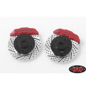 "[Z-S1712] RC4WD Baer Brake Systems Rotor and Caliper Set for 1.9"" 5 Lug Steel Wheels"