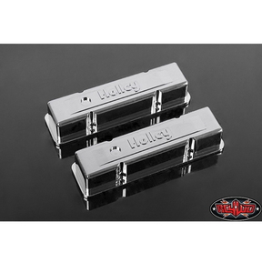 [Z-S1500] RC4WD 1/10 Holley® Chrome Valve Covers for Scale V8 Engine