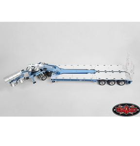 [VV-JD00018] Swingwing 3x8 Widening Equipment Semi Trailer and 2x8 Widening Dolly [넓이조절 로베드 트레일러]]