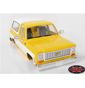 [Z-B0152] RC4WD Chevrolet Blazer Hard Body Complete Set (Yellow)