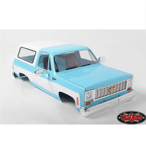 Z-B0148] RC4WD Chevrolet Blazer Hard Body Complete Set (Light Blue)