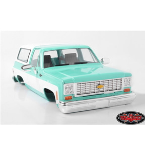 [Z-B0150 ] RC4WD Chevrolet Blazer Hard Body Complete Set (Teal)