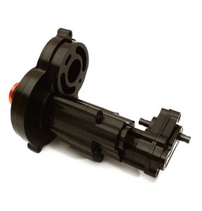 [C27676BLACK] Complete Alloy Gearbox Housing for Axial 1/10 SCX10 II w/LCG Transfer Case