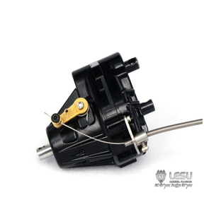 TAMIYA 1:14  differential lock  gear box - 1 to 2 way transmission box [잠금장치 트랜스퍼 케이스/블랙]