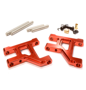[C25988RED] Billet Machined Lower Suspension Arm for Tamiya Scale Off-Road CC01