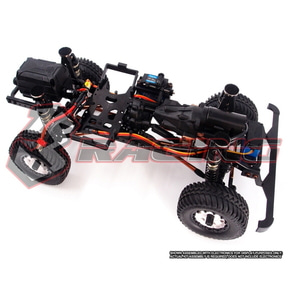 [KIT-EX-REAL/w] 3Racing EX REAL 1:10 4WD Off-Road Crawler Kit w/ Motor, 2-Speed & No Electronics