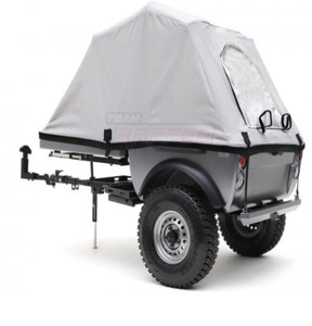 "[TRC/302378] Team Raffee Co. 1/10 Pop-Up Camper Tent Trailer Kit (w/ 1.55"" 16-Hole Steelies & SP Road Tracker Tires) [휠,타이어포함]"