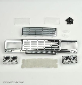 [97400331] CROSS-RC SG4 Chrome Main Grille Kit (Square) 크롬 메인 그릴 키트 (정사각형)