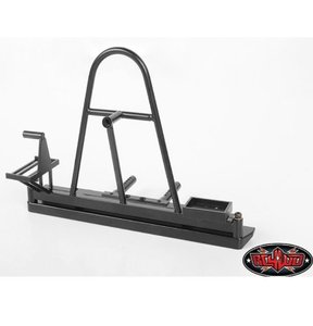 Z-S1868] Rear Swing Away Tire Carrier Bumper for Traxxas TRX-4