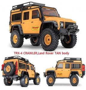 CB82056-TAN TRX-4 CRAWLER,Land Rover TAN body [매장입고완료]