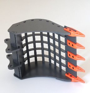 1/14 Earth Digger 360L Hydraulic Excavator grid bucket