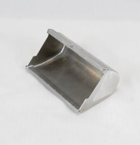 Metal bucket for 1/14 excavator (170 mm width without teeth)