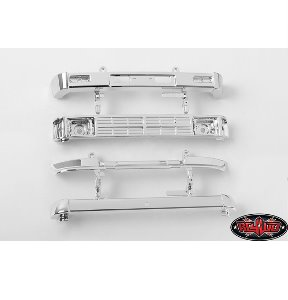 [Z-B0186] RC4WD 1985 Toyota 4Runner Chrome Bumper