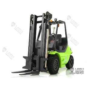 1/14 Linde hydraulic engineering forklift CNC makes hydraulic simulation metal model radium speed remote control model LESU / 1/14 유압 지게차