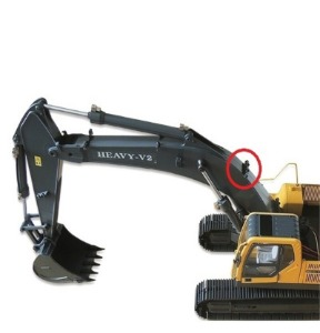 1/1​4​ Scale Earth Digger 360L Hydraulic Excavator / 붐대 유압호스 하단 6  [개당]