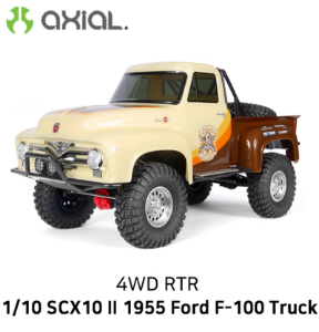 포드 1955 버전)AXIAL 1/10 SCX10 II 1955 Ford 4WD RTR SCX10 II 1955 Ford (Brown)