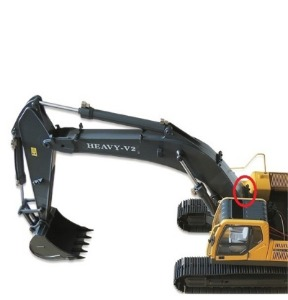 1/1​4​ Scale Earth Digger 360L Hydraulic Excavator / 붐대 유압호스 하단 8[개당]