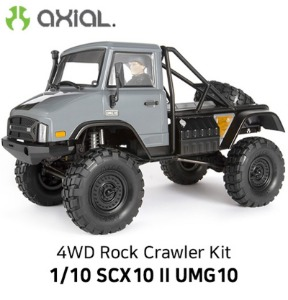 (유니목 4륜)AXIAL 1/10 SCX10 II UMG10 4WD Rock Crawler Kit