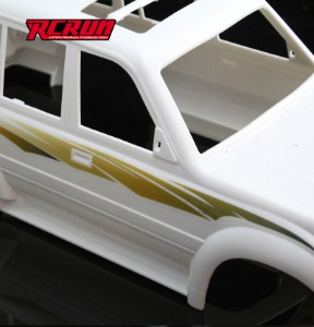 RCRUN car shell garland sticker, Land Cruiser LC80 Cherokee, etc./ RCRUN 자동차 쉘 화환 스티커, 랜드 크루저 LC80 체로키 등