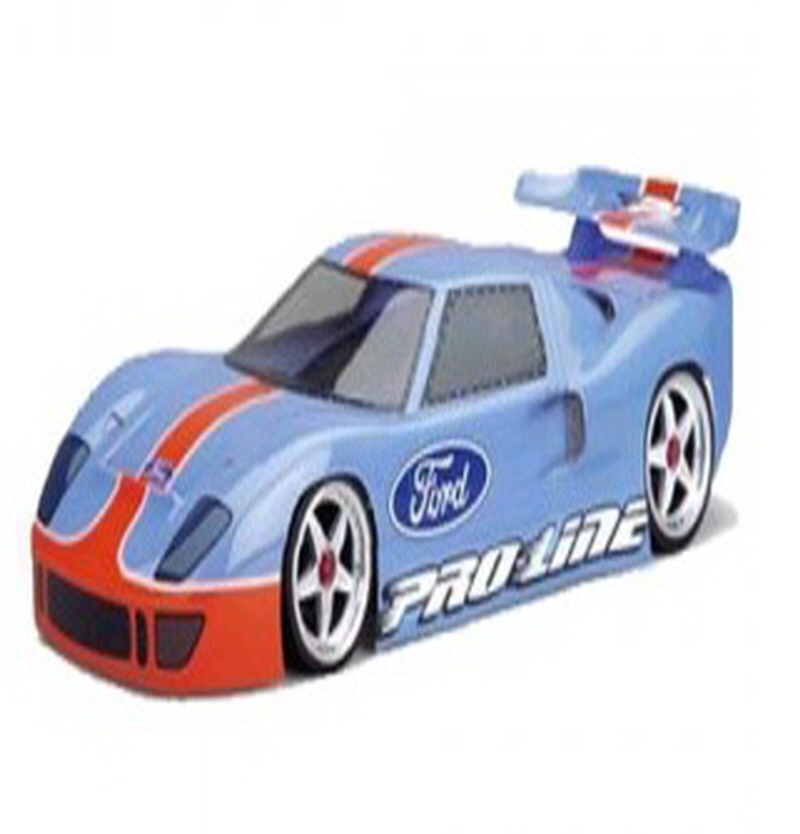 AP3123 Ford GT40 Clear Body for 200mm