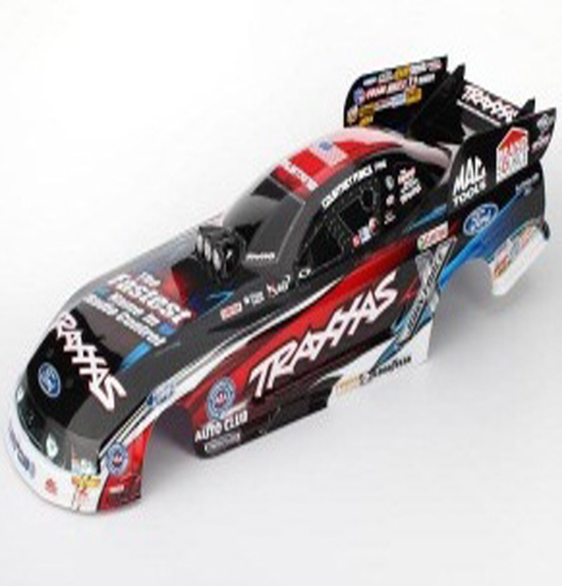 AX6911X Body, Ford Mustang, Courtney Force (painted, decals applied)