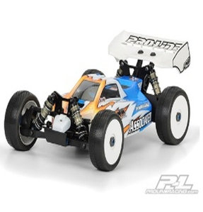 AP3377 2012 BullDog Clear Body for Associated RC8.2E