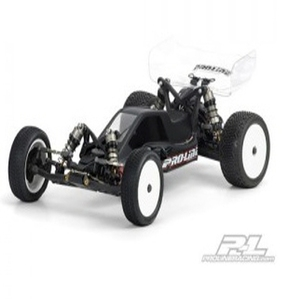 AP3358 BullDog Clear Body (Rear Motor Configuration) for Losi 22 with Rear Motor Configuration