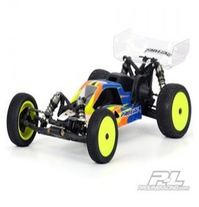 AP3359 BullDog Clear Body (Mid Motor Configuration) for Losi 22 with Mid Motor Configuration